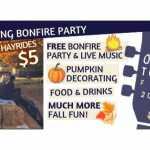 Fall Fling Bonfire  2020