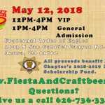 Fiesta and Craft Beer NLPOA SGV Chapter Fundraiser 2020