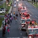 Fire Truck Parade 2020