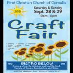 First Church Craft Fair 2019