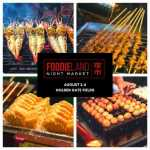 FoodieLand Night Market  - SF Bay Area (August 2-4) 2020