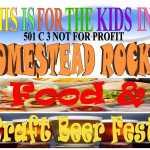 Homestead Rock'n Food and Craft Beer Festival 2021