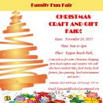 KAPAA MIDDLE SCHOOL PTS CHRISTMAS CRAFT AND FAMILY FUN FAIR 2019