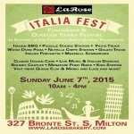 La Rose ITALIA FEST Milton 2018