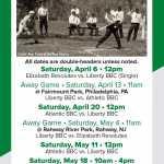 Liberty Base Ball Club 2019 Schedule 2020
