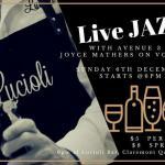 Live Jazz Sunday at Lucioli 2018