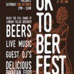 London Fields Brewery Presents Oktober Fest 2021