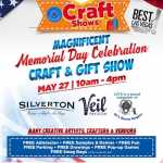 Magnificent Memorial Day Celebration Craft & Gift Show 2020