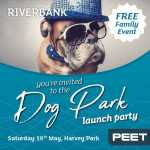 Make a dash for Riverbank's dog park launch party 2020