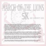 March of the Lions 5k and Community Expo 2018