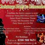 Mill Hill London Christmas Party to Remember GreenVue 2017