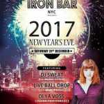 New Years Eve @ Iron Bar Time Square 2019