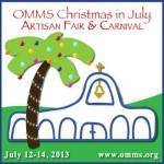 Old Mission Montessori School Christmas in July 2020