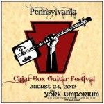 Pennsylvania Cigar Box Guitar Festival 2018
