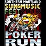 Poker Run to the SOMD Sun and Music Festival 2018