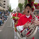 Portland Rose Festival Grand Floral Walk 2017