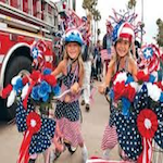 Ride in the Crown Point 4th of July Parade 2019