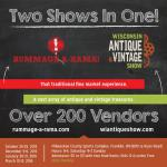 Rummage-A-Rama! and Wisconsin Antique & Vintage Show 2021