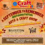 A September to Remember with Fabulous Fall Finds Arts and Craft Show 2020