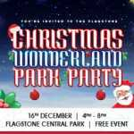 Skate in to a Christmas wonderland at Flagstone 2017