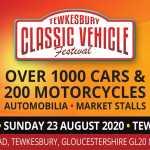 Tewkesbury Classic Vehicle Festival 2020