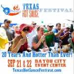 Texas Hot sauce Festival  2020
