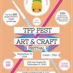 TFPFEST 2018 The Fuzzy Pineapple Art + Craft Festival 2019