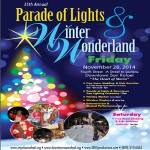 The San Rafael Parade of Lights and Winter Wonderland 2019