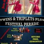 Twins & Triplets Plus Festival Parade Edmonton 2018