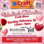 Valentine's Celebration Craft Show 2020