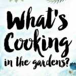 What's Cooking in the Gardens? 2018