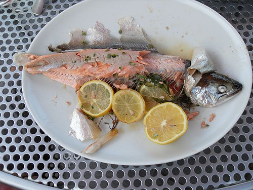 Simple Whole Roasted Fish