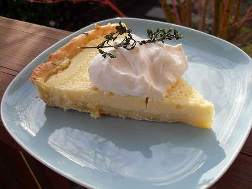Lemon, Lime and Thyme Tart