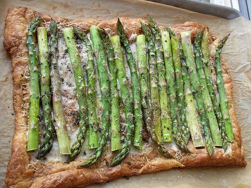 Asparagus and Thyme Tart
