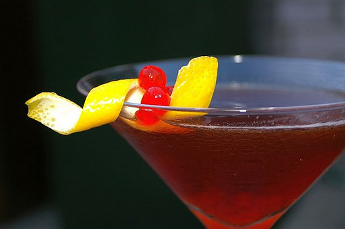 Rum Manhattan to the Rescue