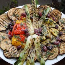 Verdure Cotto ai Ferri -- Grilled Vegetable Antipasto