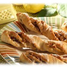 Lemon Pecan Twists