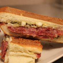 Panino Fantasia -- Proscuitto and Anchovy Spread Sandwich