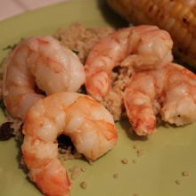 BBQ Lime Shrimp