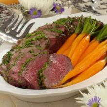 Arrosto di Manzo  --  Roast Beef, Sicilian Style