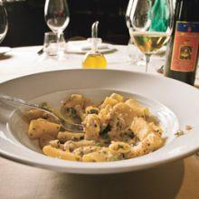 Rigatoni al'Agrigento -- Macaroni  Agrigento Style, with Sausage
