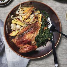 Pollo de la Mediterraneo -- Chicken Mediterranean Style