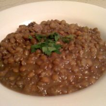 Black Butte Porter Lentil Soup