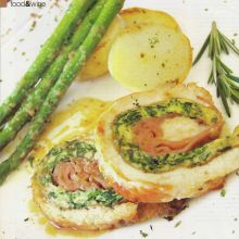 Rotolo di Tacchino  --  Turkey Roll with White Wine