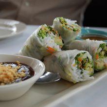 Thai Vegetarian Spring Rolls
