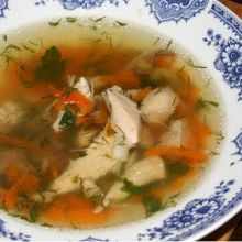 Zuppa di Pollo -- Classic Chicken Soup