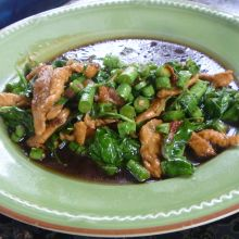 Stir-fried Chicken with Hot Basil (Pad Krapow Gai)