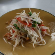 Thai Papaya Salad (Somtam Malagor)