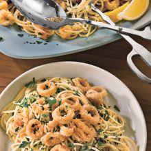 Pasta Amalfi  --  Linguine with Calamari