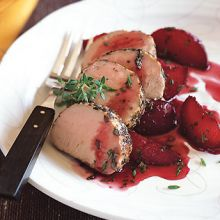 Lambota di Maiale con Pompelamo  --  Pork Loin with Grapefruit